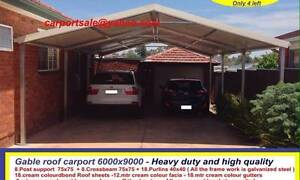New  carport 6 x 9  $2400 or 6 x 12  $ 3200 Ingleburn Campbelltown Area Preview