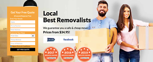 LOCAL CHEAP MOVERS-REMOVALISTS MELBOURNE 2 MEN WITH TRUCK $34.99HHR Greater Dandenong Preview