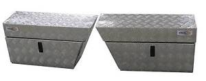 Aluminium Ute Under Tray Toolboxes PAIR Left & Right Osborne Park Stirling Area Preview