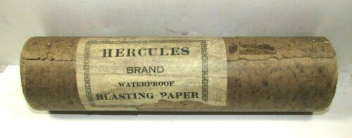 Antique Hercules Blasting Paper Full Roll Unopened