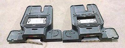 2 Code 3 Excalibur 2100 Light Bar Optix Led Mounting Feet Bracket Assembly Pair