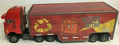 JERRY recycled batteries hauler disney pixar cars semi truck  #5 tractor trailer