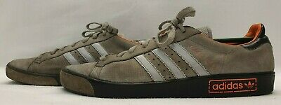 GENUINE Mens FOREST HILLS Trainers Size UK 11 EU 46 Grey Suede Shoes
