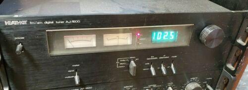 HEATHKIT AJ-1600 AM / FM DIGITAL TUNER WITH RACK MOUNTS