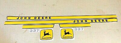 John Deere 337 Baler Decals