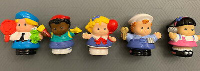 Fisher Price Little People Lot of 5 Figures: Kids Adult