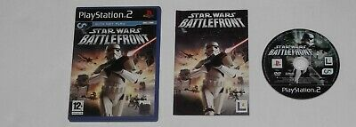 STAR WARS BATTLEFRONT for PLAYSTATION 2 'ORIGINAL'