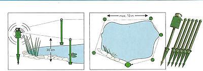 SUPERFISH Pond Alarm Reiherschutz Teichalarm Koischutz Reiherschreck Kinderschut