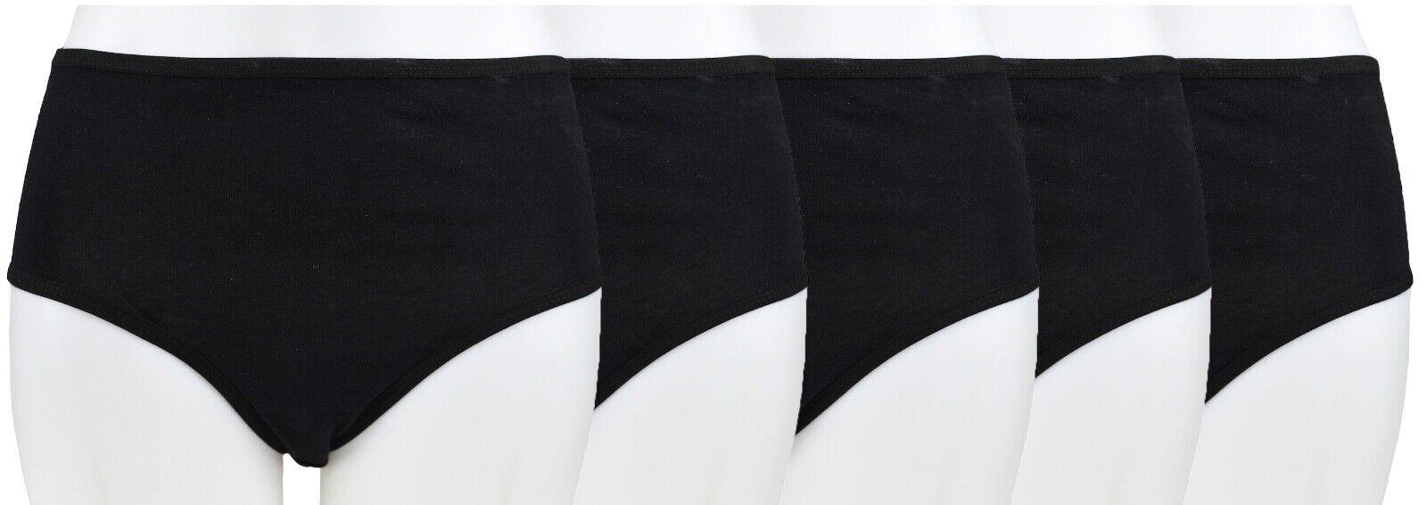 Damen Slips(C) aus 100% Baumwolle Übergröße bis 3XL Unterhose Cotton-Slips