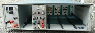 Tektronix Tm506 Power Module Mainframe Chassis 6 Slot W 2-plug Ins