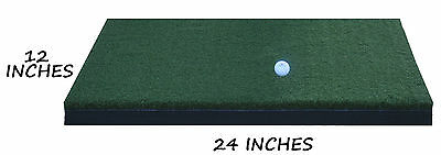 "12"" x 24"" Nylon Golf Mats Turf Chipping Driving Range Practice Mat Training Aid"