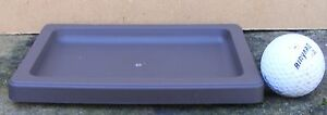 BONSAI POT SUIBAN/DRIP TRAY L1370 PLASTIC - 17cm