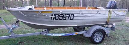 FOR SALE Aluminium Open Dinghy Runabout