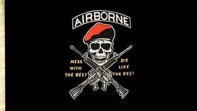 Airborne Flag - U.S.Military US ARMY Officially Licensed Military Flag