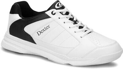 Mens Dexter RICKY IV Lite Bowling Shoes White/Black Sizes 6-15