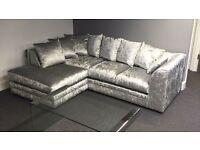Special Crushed velvet sofa range