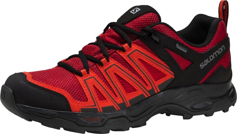 Billige Salomon SLab Ultra Trailrunning Schuhe Damen RotLila