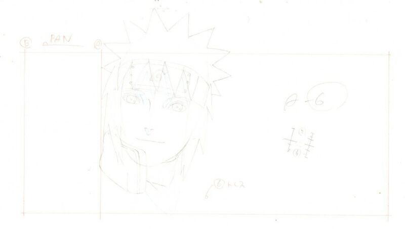 Anime Genga not Cel Naruto #352