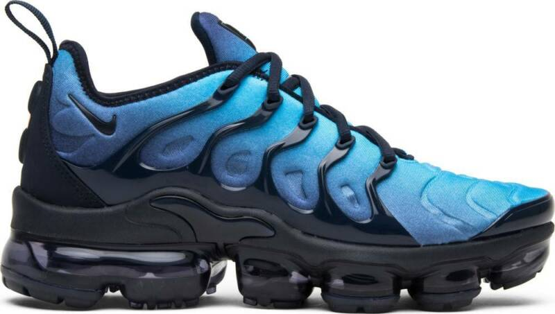 593c251bc76 Nike Air Vapormax Plus Obsidian Blue Photo VM Max Tuned 924453-401 Authentic
