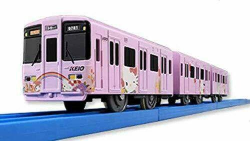 Tomy original Plarail Keio 9000 series Keio Sanrio Puroland train 208216