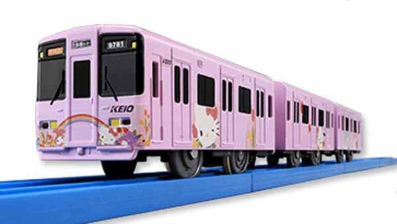Tomy original Plarail Keio 9000 series keio Sanrio Puroland train JAPAN