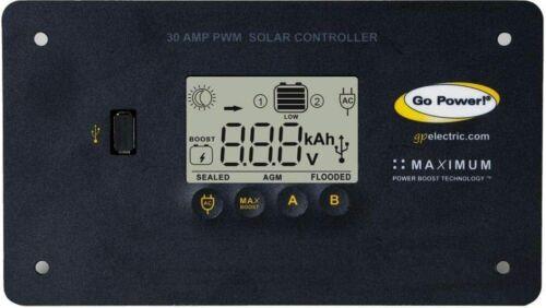 Go Power! GP-PWM-30-UL 30 Amp Solar Regulator