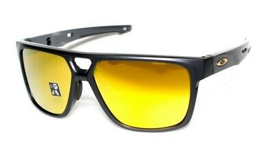 Oakley Crossrange Patch OO9382-0460 Matte Black 24K Iridium Lens Sunglasses