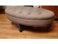 large beautiful and elegant footstool can deliver