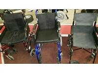 WHEELCHAIRS SMALL, MEDIUM AND LARGE FITTING BARGAIN!!