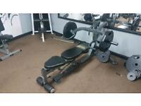 Powertec multi press machine gym - shoulders chest back etc