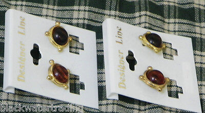 Lot of 2 PAIRS of NEW FASHION EARRINGS