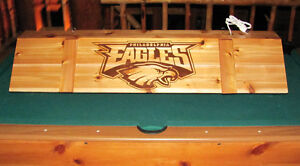Custom NFL MLB Sports Pool Table Poker Billiards Light with your Wording Name!