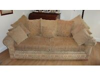 DERWENT SOFA AND ARMCHAIR FROM JOHN LEWIS VERY GOOD CONDITION