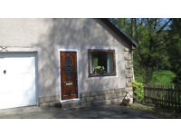One Bed Furnished Detached Flat to Rent in Crieff