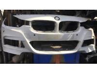 BMW 3 Series 2015 F30 M-Sport front bumper needs RESPRAY