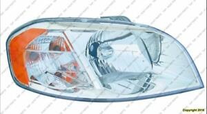 Head Lamp Passenger Side Sedan High Quality Chevrolet Aveo 2007-2011