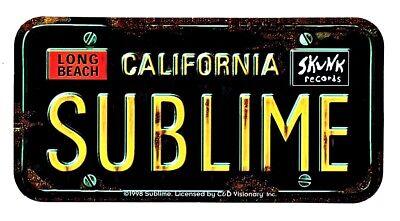 Sublime Long Beach Sticker Decal Hippie Rock n Roll Rasta Marijuana Weed Bong (Rock N Roll Home Decor)