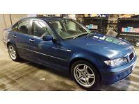 BMW 316I SE AUTO 1.8, 2002, Mileage 86700