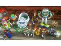 Big bundle of toy story toys