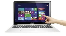 """Asus VivoBook S500C Touch 15.6"""" Ultrabook, i3-2365M, 4GB RAM, 500GB HDD, WIN10"""