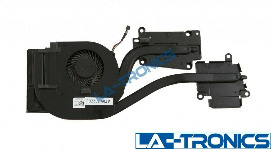 Genuine Dell Latitude E6540 Laptop Cooling Fan w/ Heatsink 72XRJ 072XRJ