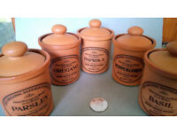 henry watson pottery jars