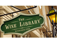 Fun outgoing Catering Assistant wanted by busy City of London Wine Bar / Wine shop