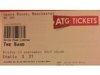 One 'The Band' Ticket Manchester Opera House
