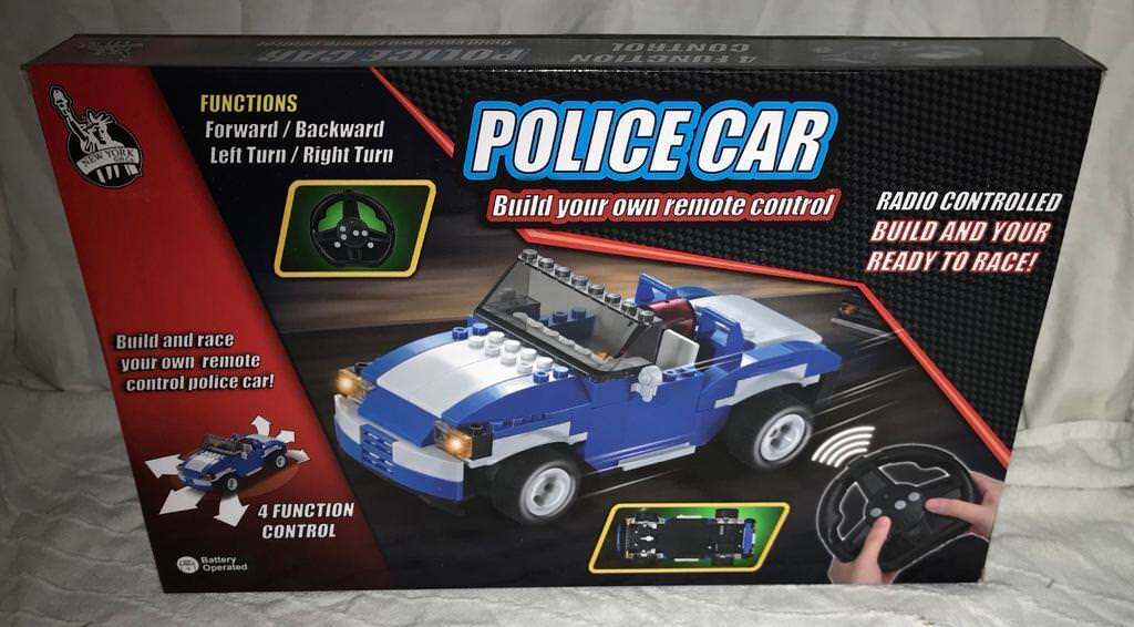 Build Your Own 4 Channel Remote Control Police Car Engine Sounds