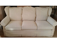 MULTIYORK two Sofa's, Armchair and matching pouffe FOR SALE