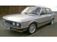 Classic BMW 520i E28 £2500 ono