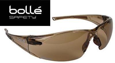 Bolle Rush Safety Glasses Twilight Lens Anti-fog Lens - Free Shipping