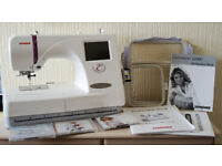 Janome 350E Embroidery Machine Immaculate Condition