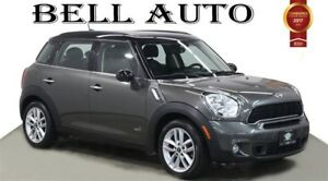2014 MINI Cooper Countryman COOPER AWD S LEATHER PANORAMIC SUNRO